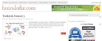 Blog boleh buka tanpa www (blogspot)