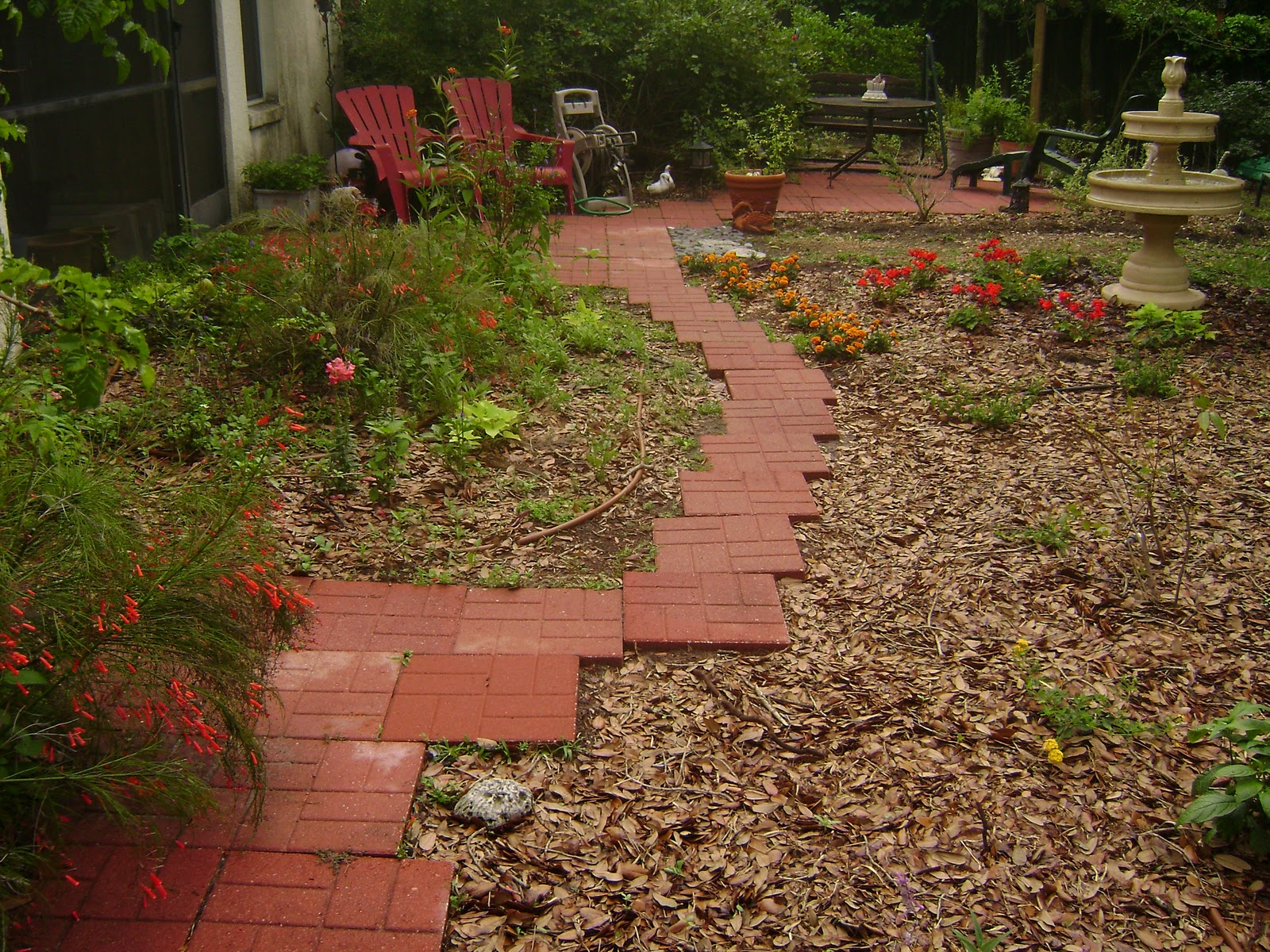 Serendipity In The Garden Paving The Way For A Friend