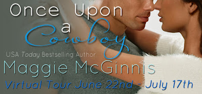 Once Upon a Cowboy by Maggie McGinnis Banner