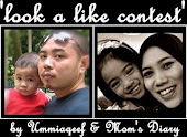 Look a Like Contest by Ummiaqeef  & Mom's Diary