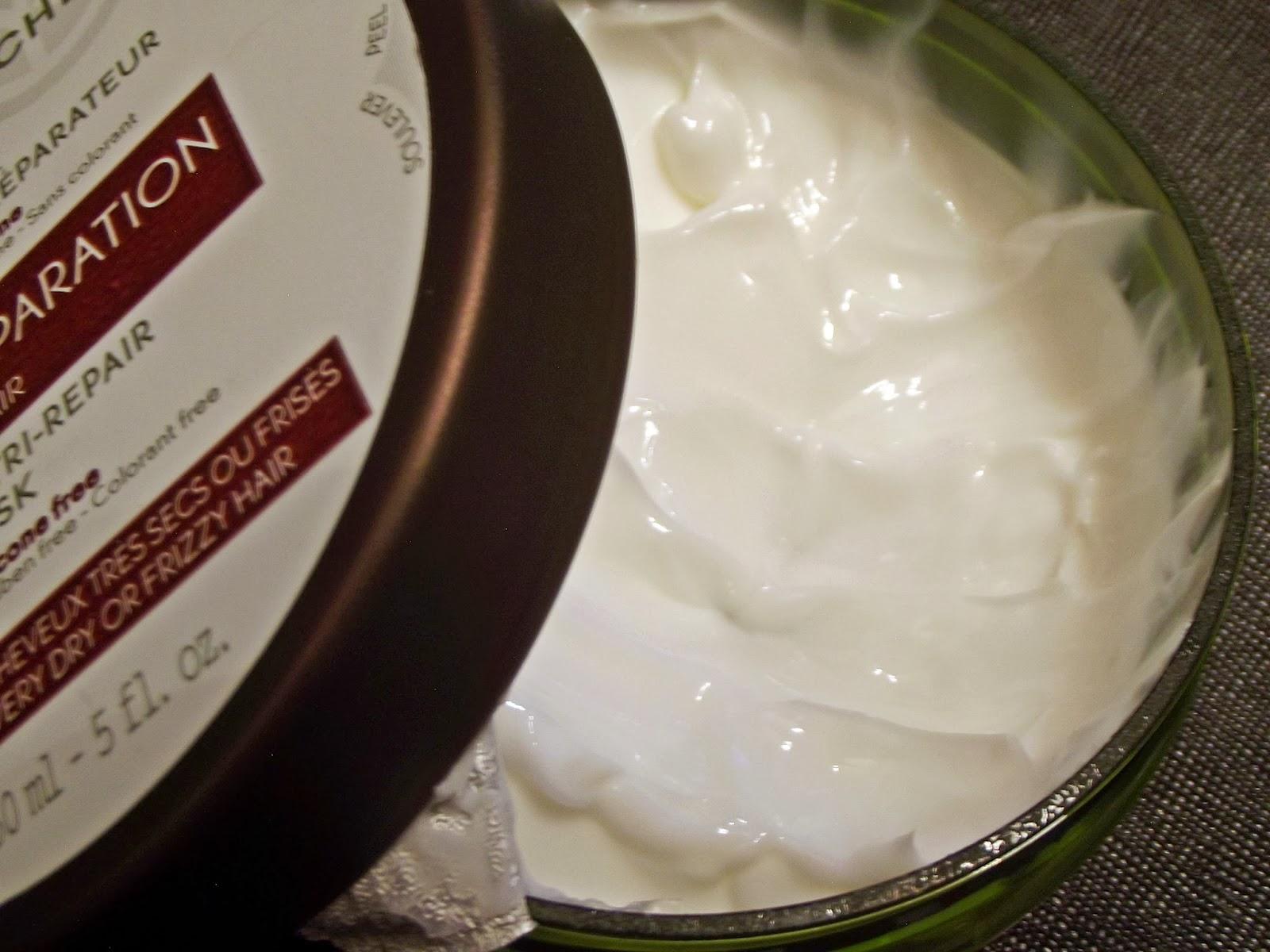yves rocher maska odbudowująca do włosów