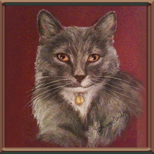 PORTRAIT OF SMOKEY