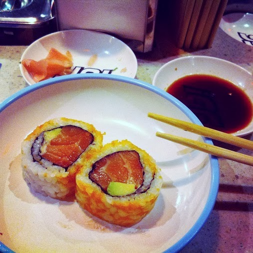 Yo Sushi California Rolls