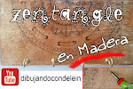 Zentangle en madera