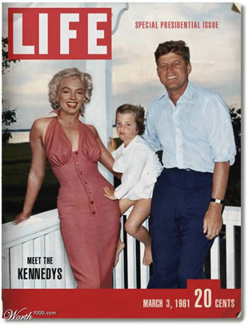 Marilyn & JFK (Portada imposible)