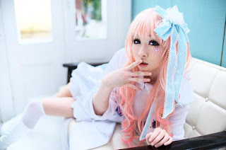 Macross Frontier Sheryl Nome Cosplay by Mai
