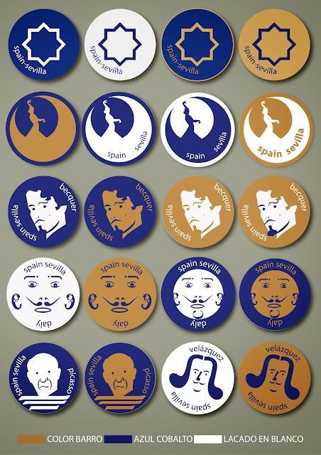 cerámica sevillana,souvenir sevilla,carbografico,diseño en sevilla