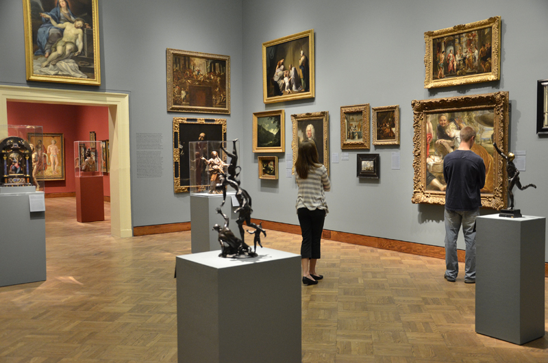 essay on visit to art museum