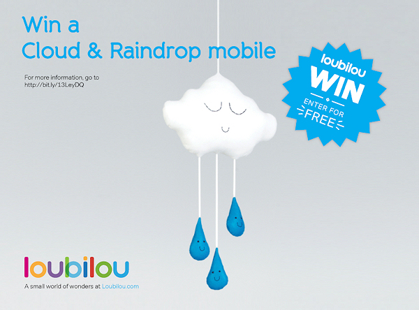 Mummy Of 3 Diaries Win A Cloud And Raindrop Mobile By Claireoncloud9