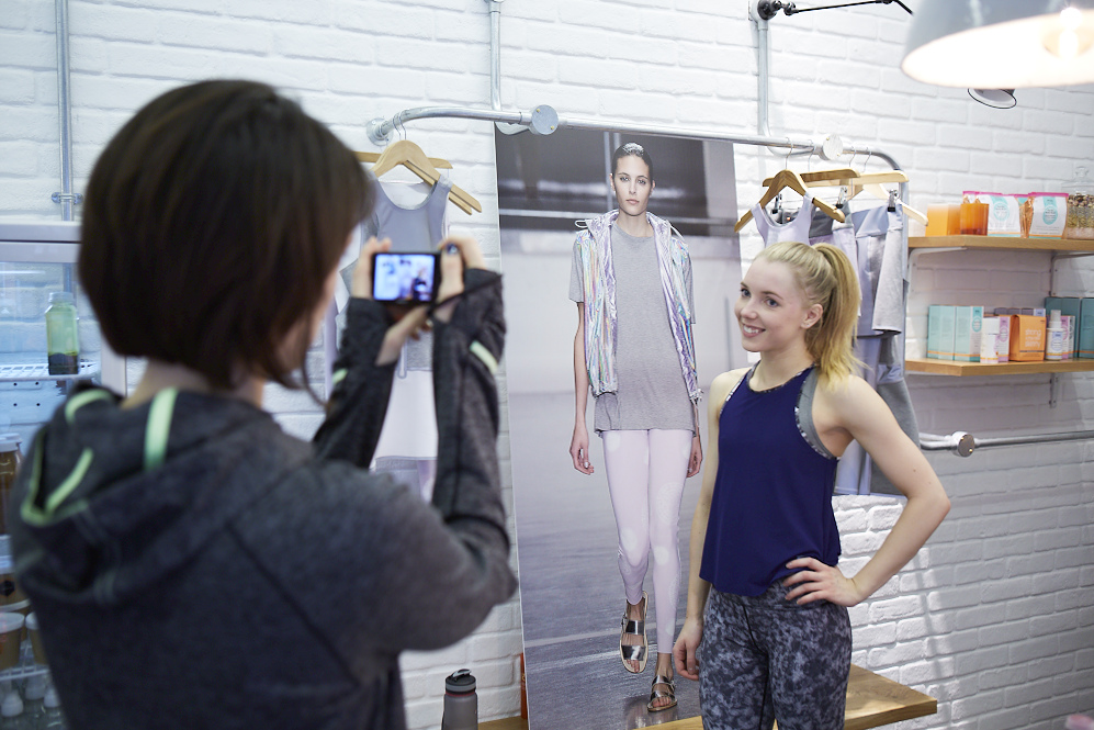 Natalie The Blonde Ethos at Sweaty Betty x Richard Nicoll Collection Launch
