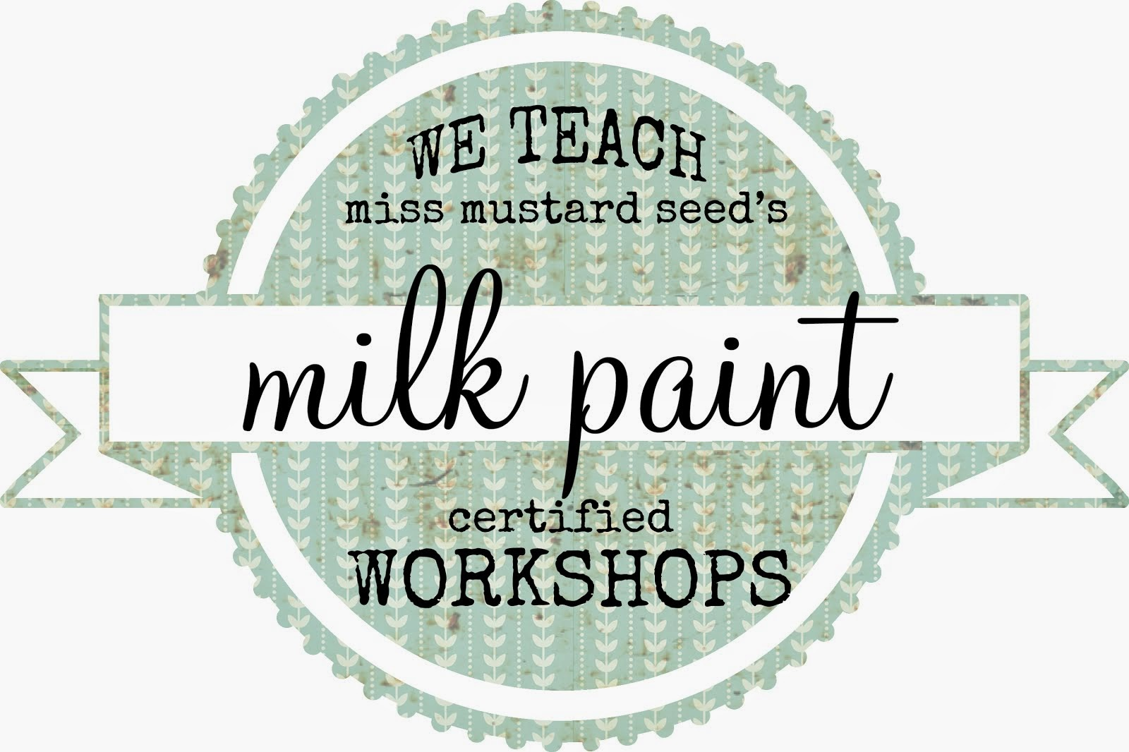 Milk Paint Workshops