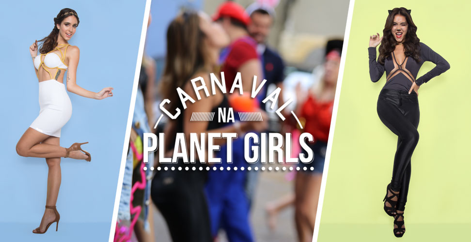 Bloco de Carnaval Roupas Planet Girls