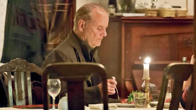 George Clooney and Bill Murray have a vodka dinner Bill+1