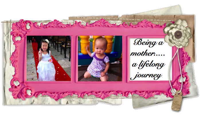 Being a mother....a lifelong journey