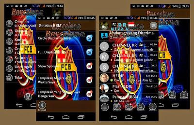 BBM Mod Tema Barcelona V.2.8.0.21 Apk terbaru