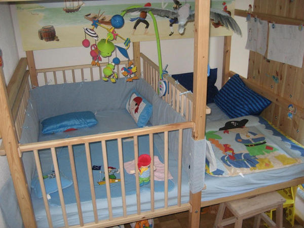 Etagenbett Babygitter : Etagenbett mit babygitter: kinder wohndesign und