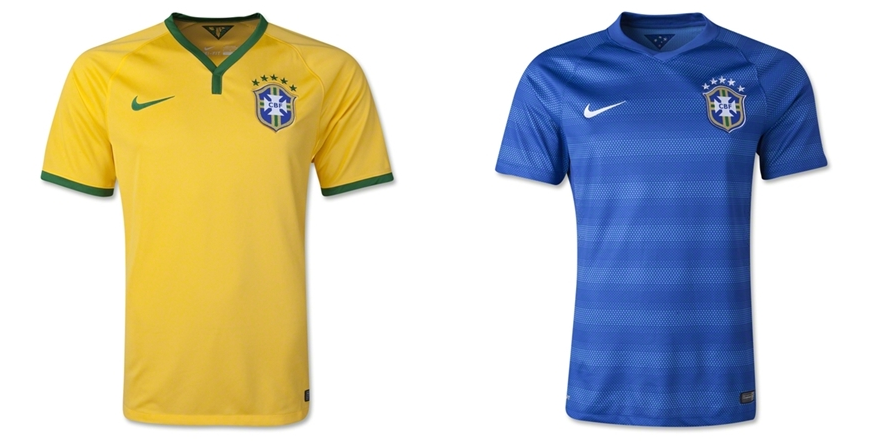 Brazil - Jersey Grade Ori Piala Dunia 2014