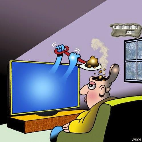 lixo da TV