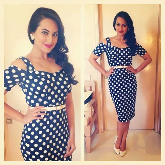 Sonakshi Sinha looks stunning in an Asos dress.