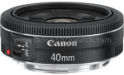 Fotografia del Canon EF 40mm f/2.8 Pancak