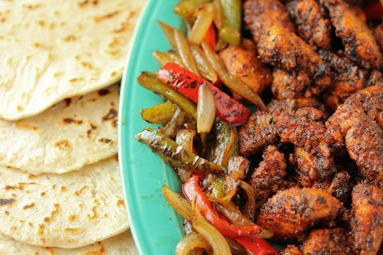 The Kipe Kitchen: Blackened Catfish Fajitas