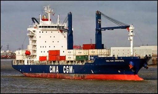 Navio Armador CMA