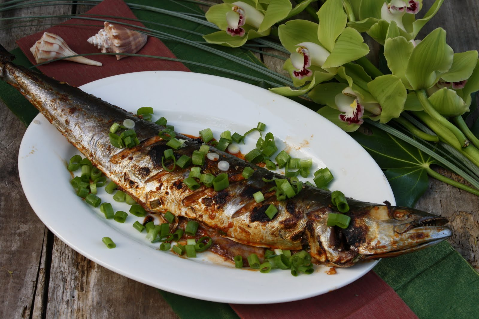What 39 s cooking in your world day 131 palau korean for Fish cooking recipes