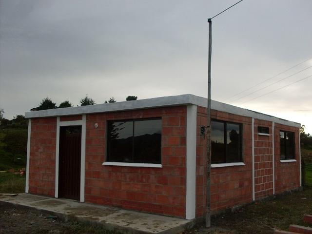 El zorro protector casas campesinas bloques sin cemento - Casas de cemento ...