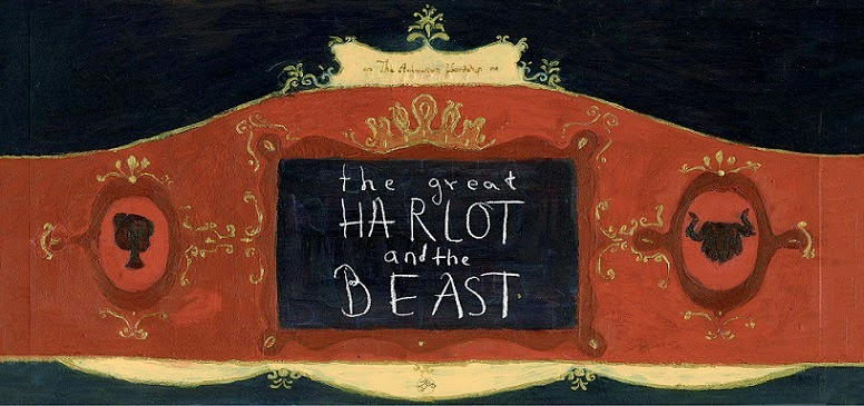 Animated marionette short film - The great Harlot and the Beast