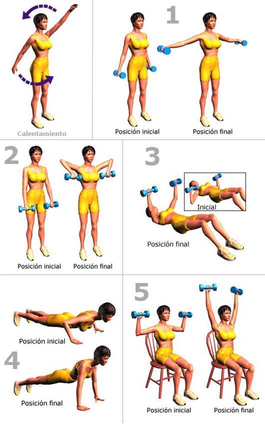 ejercicios para bajar: