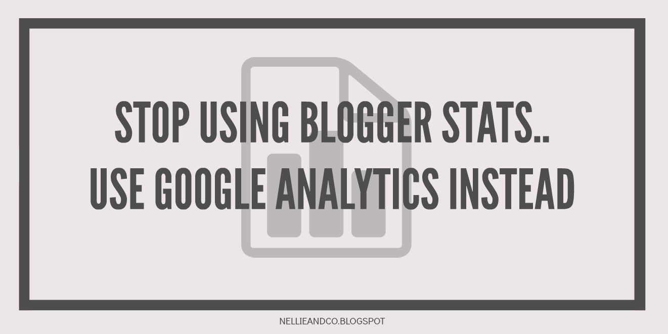 Blogger Stat vs Google Analytics | When it comes to keeping track of your statistics, do stop using Blogspot stats. They're fraught with spam, bot views and more, use Google Analytics instead my friend!