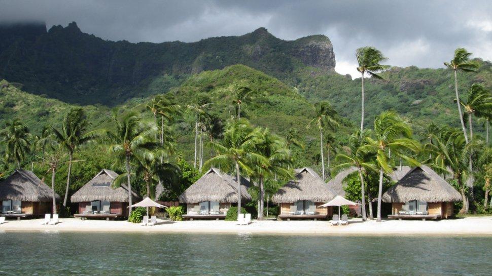 Bungalows sur la plage de Maharepa - Moorea Pearl Resort & Spa