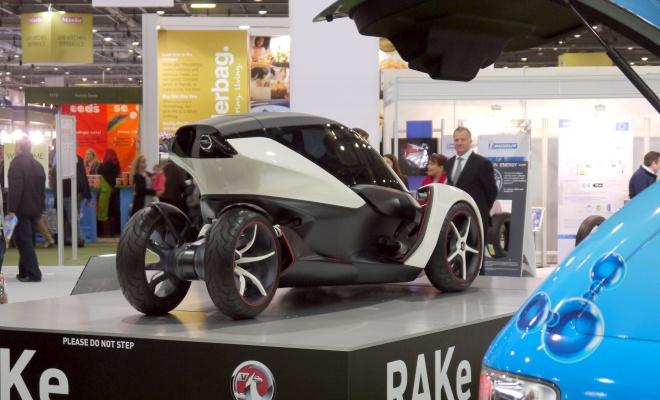 Opel RAKe concept at EcoVelocity