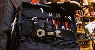 Caja de herramientas para reparar bicicletas elécticas