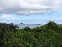 The Magnificent Vista from the Top of the Trail Between Cormorant Point and Flour Beach, Floreana, Galapagos