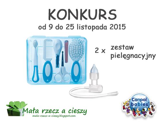 Konkurs jesienny - wygraj 2 zestawy pielęgnacyjne od Canpol babies / Wyniki