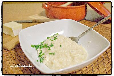 Riso in cagnone | Ris an cagnòn Piemonte ricetta di risotto al formaggio