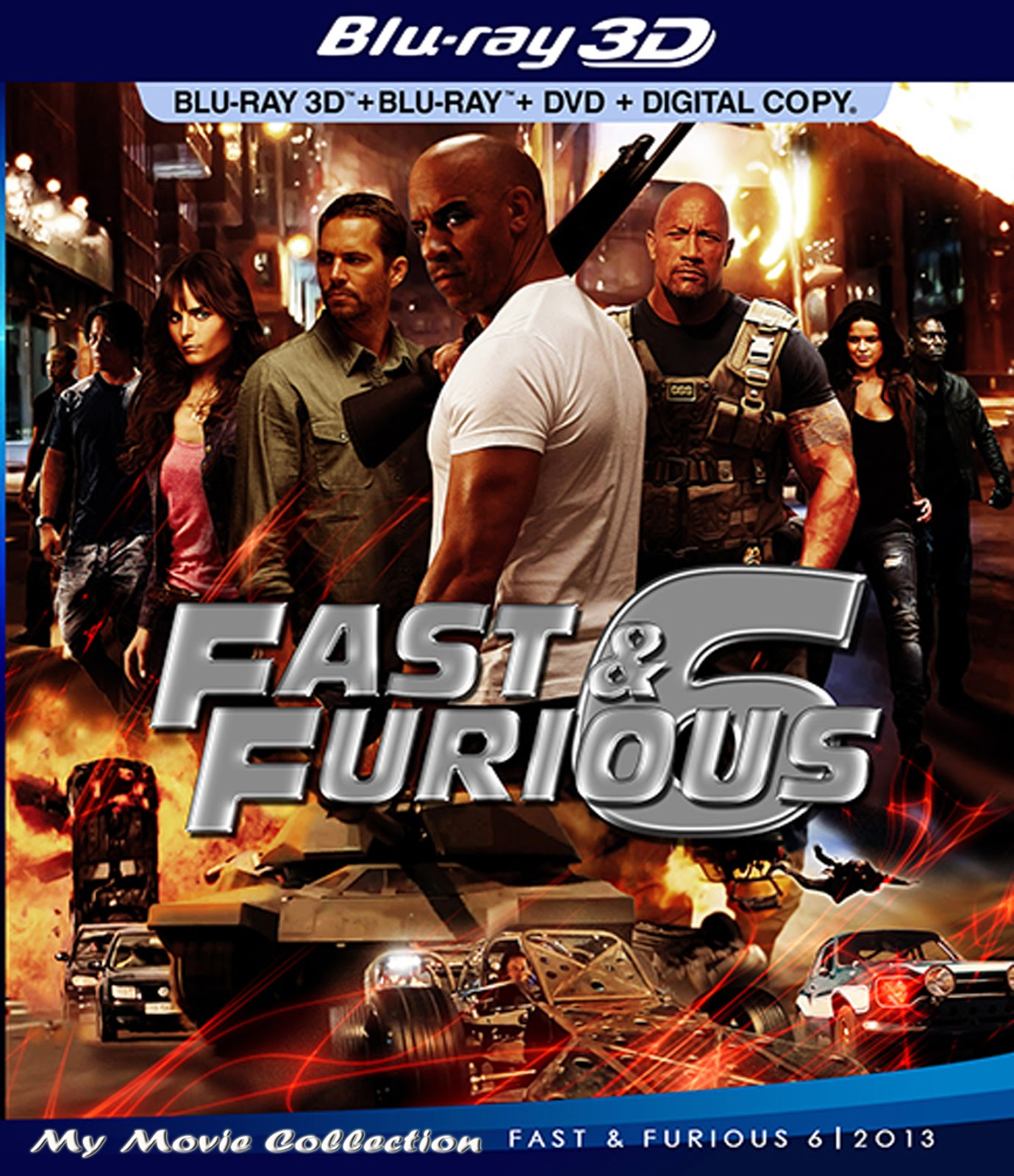 Film Fast and Furious 6 (2013)