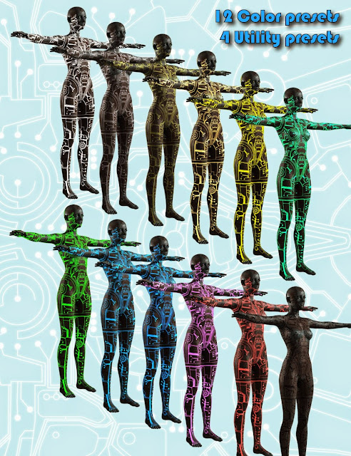 3d Models Art Zone - DA Circuit One for Genesis 2 Female(s)