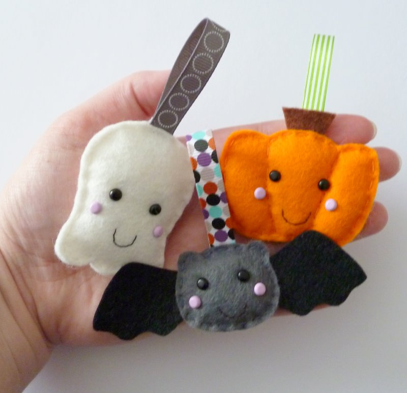 paper-and-string: Halloween Decorations - Cute Halloween Ornaments