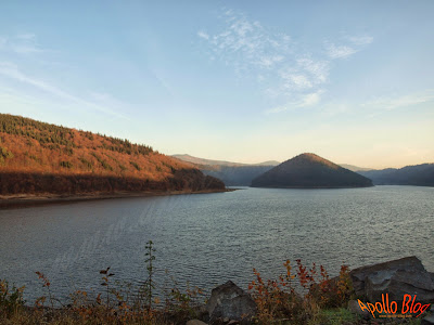 Lacul Zetea dimineata