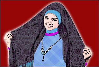 Tutorial Cara Memakai Jilbab Modern dan Gambarnya
