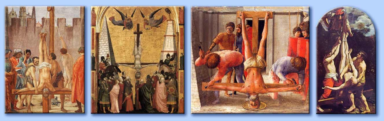Perch San Pietro stato crocifisso a testa in gi?