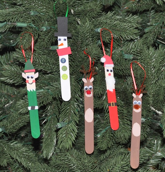 DIY Santa Claus crafts