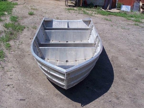 Алюминиевая лодка своими руками видео