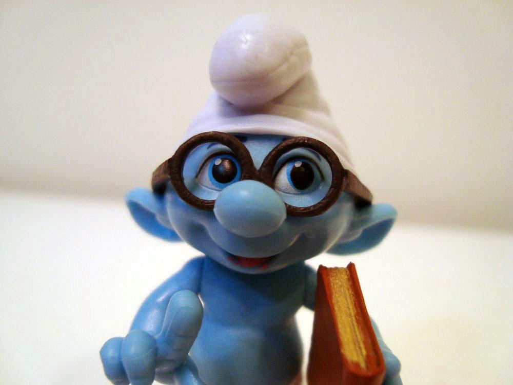 Rabid Smurf