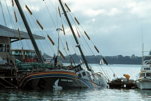 Rainbow Warrior Sinking