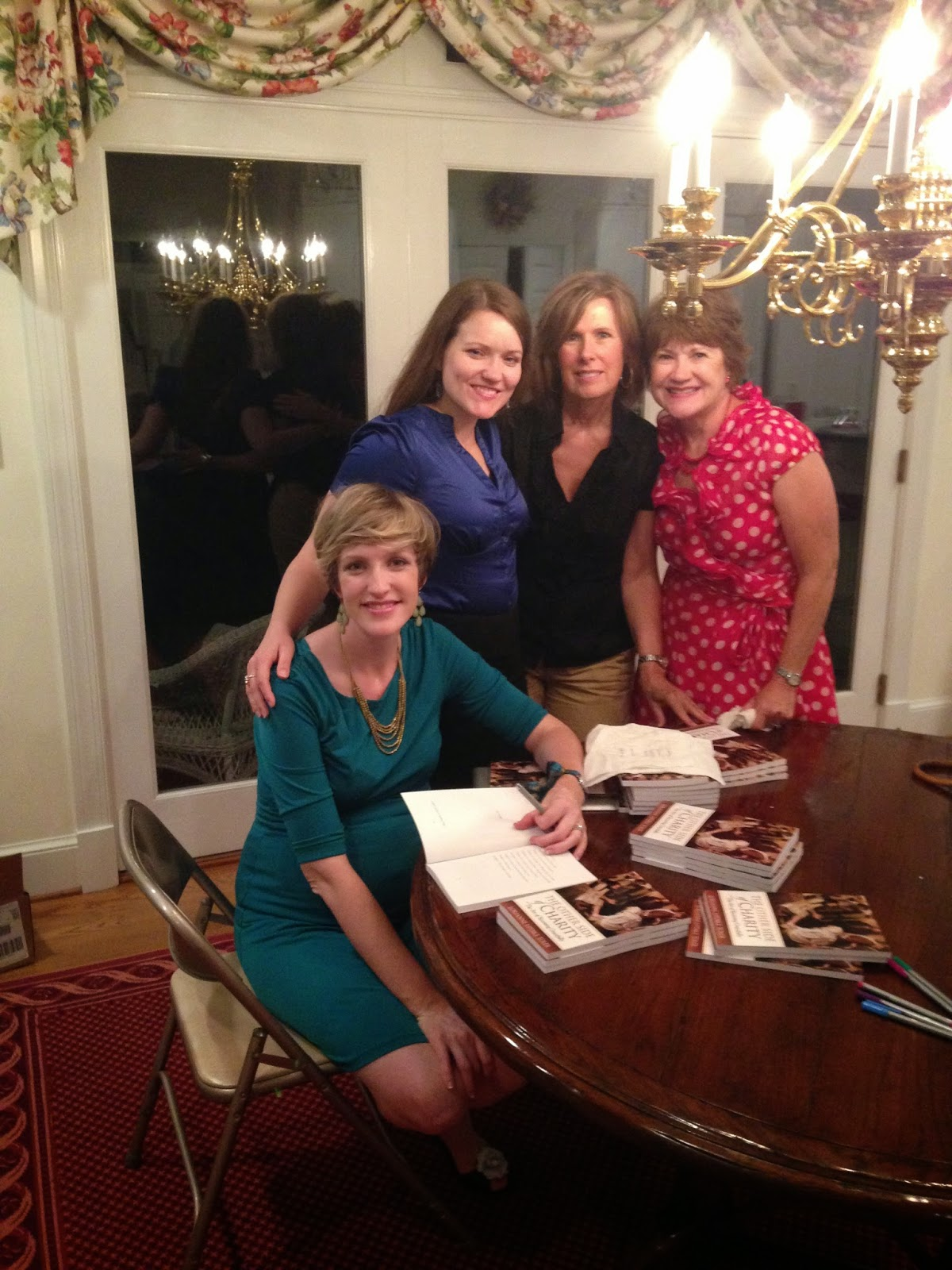 Lorianne Updike Toler book signing Other Side of Charity