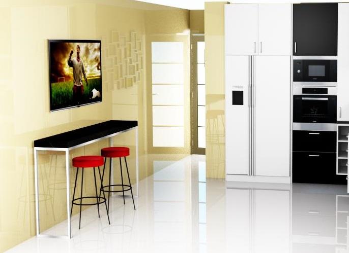 Dise o de cocina con muebles hasta el techo for Muebles de cocina hasta el techo