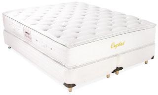 Cama Box Herval Crystal